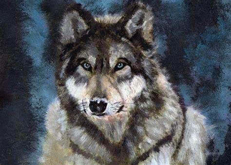 Wolf Art Wallpaper