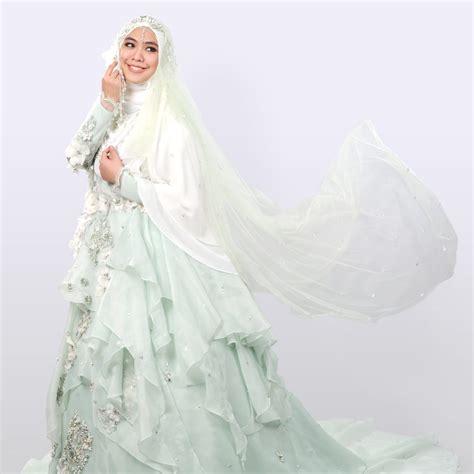 model jilbab syar i 7 desain baju pengantin syar 39 i modern ala desainer wanita