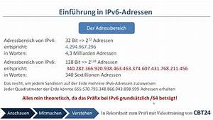 Ipv6 Adresse Berechnen : cbt24 einf hrung in ipv6 adressen youtube ~ Themetempest.com Abrechnung