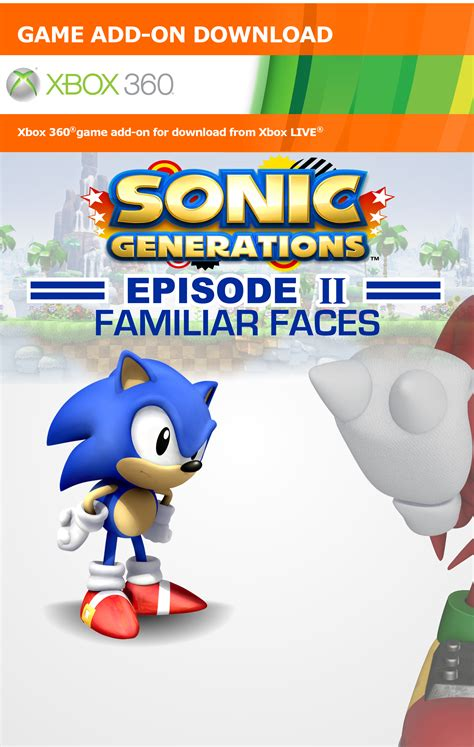sonic generations episode  xbox  box art cover