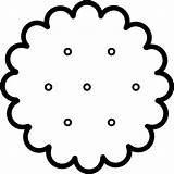 Cracker Clipart Crackers Clip Snack I2clipart Clipground Domain Cliparts 20white 20clipart 20and 20black sketch template