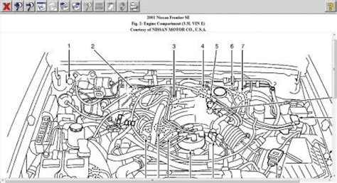 car engine manuals 2000 nissan xterra head up display 2001 nissan frontier no spark to plugs electrical problem 2001