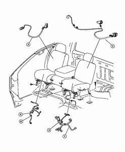 2012 Dodge Ram 3500 Wiring  Seat Air Bag  Seat Air Bag Tag