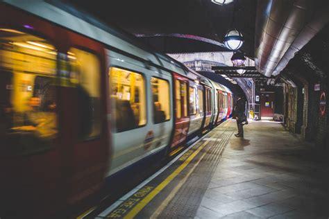 Underground Subway Train Station Free Stock Photo