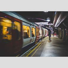 Underground Subway Train Station Free Stock Photo