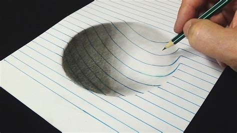 3d Zeichnen by 3d Drawing For Adults How To Draw Concave Surface