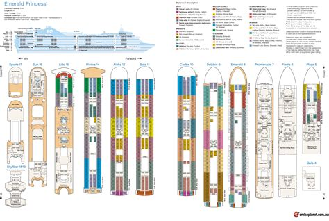 Princess Deck Plan Pdf wooden plans cabin plan sun princess pdf cabin