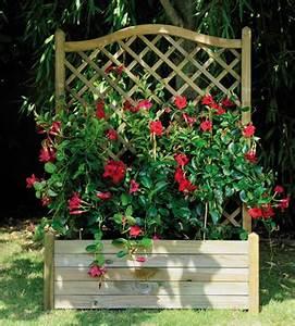 Bac A Fleur Exterieur : fleurs terrasse bois ~ Dailycaller-alerts.com Idées de Décoration