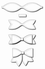 Best 25 ideas about paper bow template find what youll love paper bow template printable maxwellsz