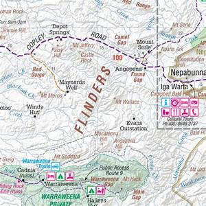 Hema - Item - Flinders Ranges Map - Hema Maps