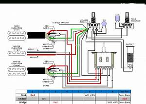 Dimarzio Bluesbucker Wiring Diagram