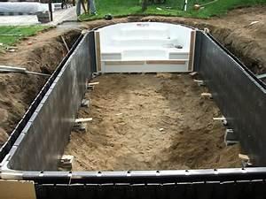 construire sa piscine construire une piscine avec les With comment construire sa piscine en parpaing