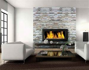 contemporary fireplace designs with tv above ward log homes With best brand of paint for kitchen cabinets with metal wall art above fireplace
