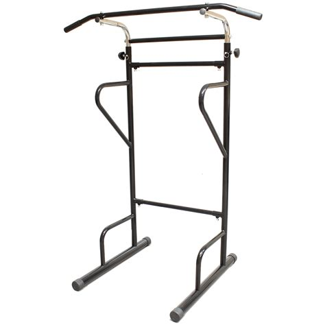 Chin Up Dip Bars For Home Fitness Power Tower Dip Station Sit Pull Press Chin Up