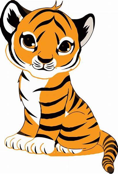 Tiger Clipart Jeep Face Clip Royalty Illustration