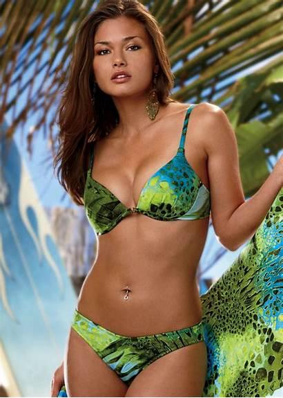 Bikini Karen Carreno Wallpapers Models Cleavage Bra