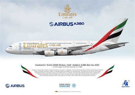 airliners illustrated emirates expo dubai uae airbus