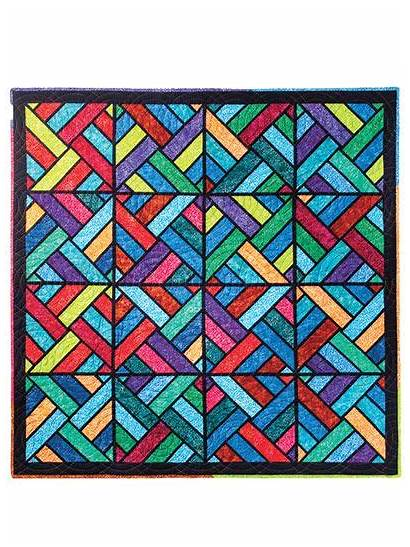 Quilt Pattern Tessellating Patterns Glass Stained Diamonds
