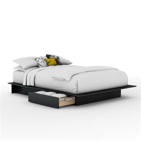 south shore step one full queen platform bed 54 60