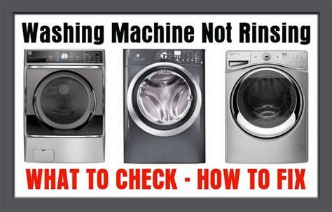 Washing Machine Not Rinsing  How To Fix Us3