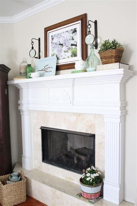 beautiful spring mantel decor ideas    find helpful