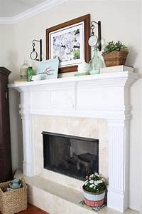 Gorgeous Spring Mantels {decorate mantel} - Home Stories A