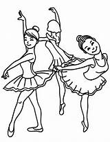 Coloring Ballet Dance Sketch Friends Class Tutu Bear Template Dancing Colouring Learning Drawing Jazz Female sketch template