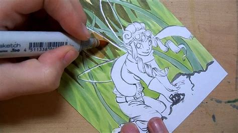 coloring with markers copic marker tutorial coloring transparent wings