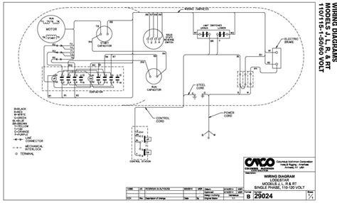 electric hoist wiring diagram power cord previous