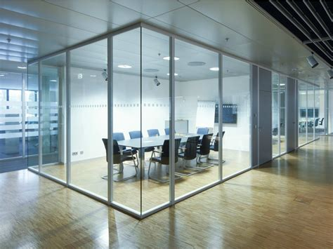 cloison de bureau en verre cloison amovible de bureau coulissante en verre h68 by