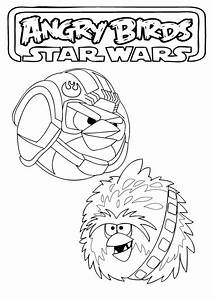 Angry Birds Star Wars Coloring Pages - Free Printable ...