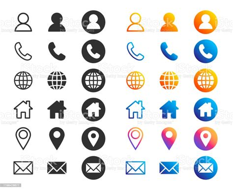 Find the best way to get help and connect with usps®. Company Connection Business Card Icon Set Phone Name Website Address Location And Mail Logo ...