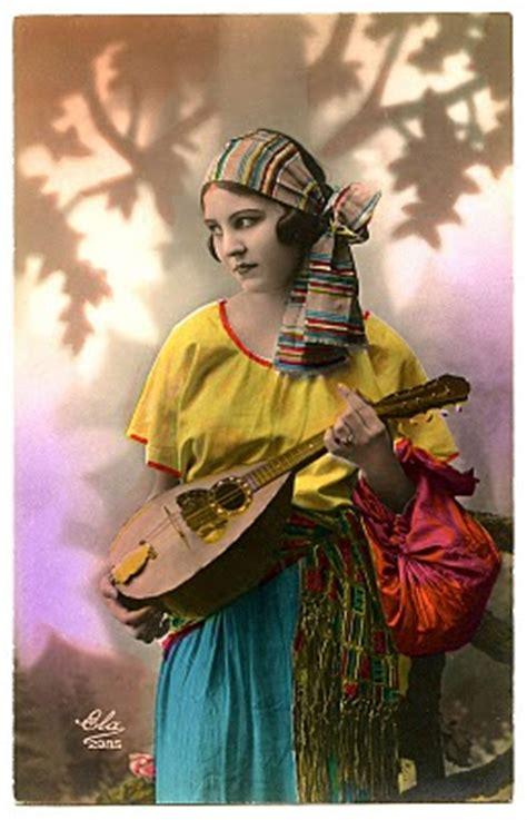 vintage image fabulous gypsy  graphics fairy