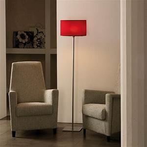 Schirm Für Stehlampe : bomp stehleuchte rund designerleuchte mit rotem schirm von gibas neu stehlampe ebay ~ Frokenaadalensverden.com Haus und Dekorationen