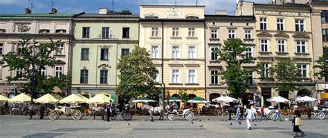 stores cuisine krakow 39 s rynek glowny grand square central square of krakow