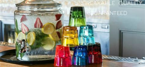 Unbreakable Glasses, Barware & Drinkware