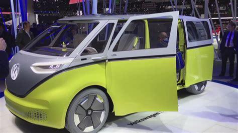 new volkswagen bus 2017 volkswagen i d buzz bus concept walkaround at geneva