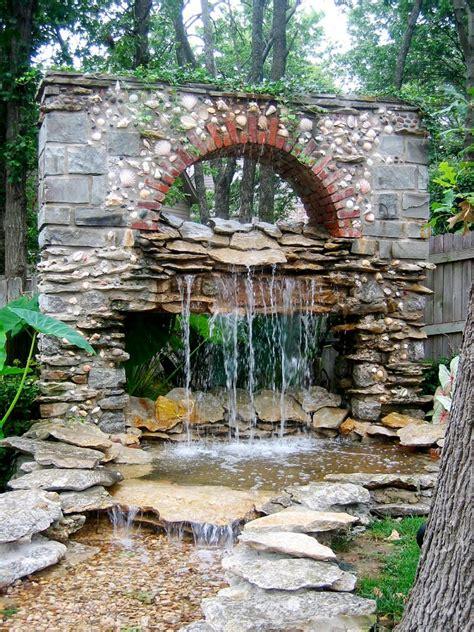 15 unique garden water features hgtv
