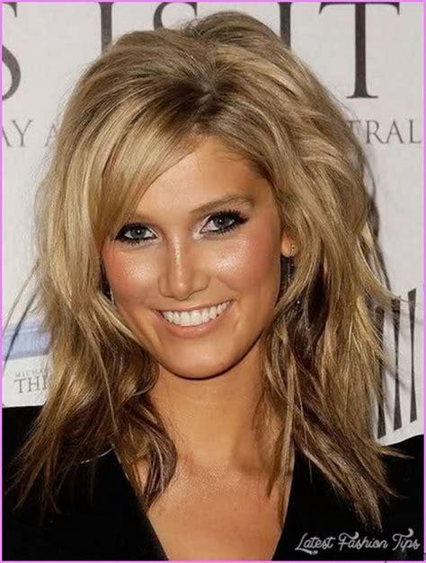 Easy medium length haircuts for wavy hair