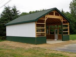 metal pole barns 24 x 32 steel sided pole barn 10 of 18 With 24x32 garage prices