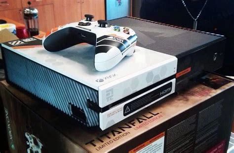 titanfall branded xbox one consoles given to respawn