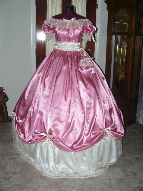 civil war ball gown reenacting dickens victorian dress