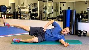 Gluteus Medius Exercise For Knee  Hip And Low Back Issues