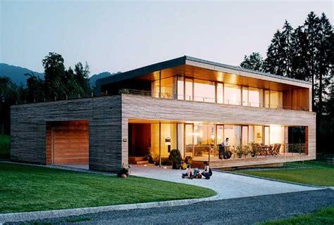 Moderne Häuser Balkon by Holzhaus Modern Perfekt Mit Nach Hause Stil Minimalistisch
