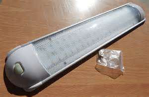 rv cargo race trailer interior led ceiling light fixture