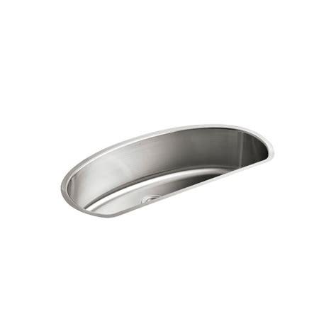 kohler d bowl sink kohler undertone undercounter stainless steel 42 in