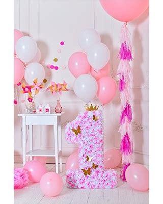 savings  ofila baby girl st birthday backdrop xft