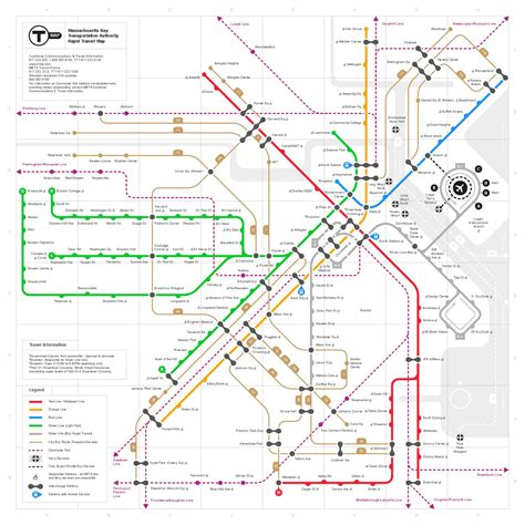 railroadnet view topic mbta system map contest