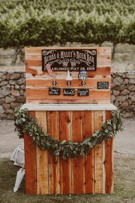 ideas   wedding beer bar bravobride