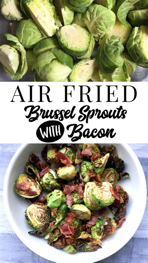 air sprouts brussel fried recipe easy quick fryer fry vegetables carb low healthy recipes way bacon brussels visit food